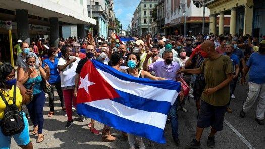 Ante protestas en Cuba, piden fin de bloqueo económico