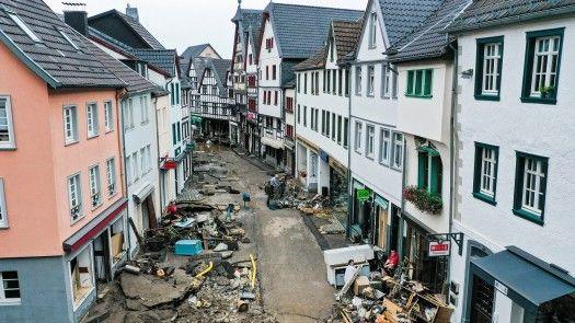 Más de 100 muertos en inundaciones en Alemania