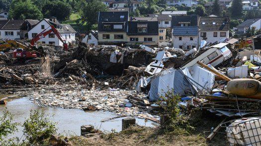 Alemania afectada por inundaciones