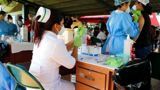Barridos de vacunación en Arraiján genera asistencia masiva