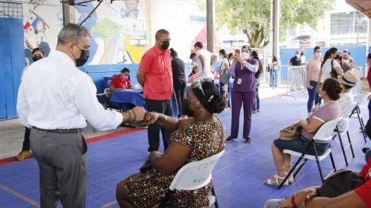 Vacunación en Panamá