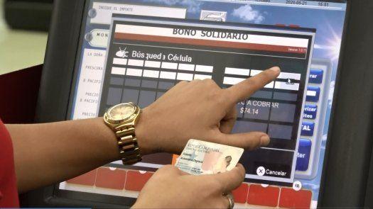 670 mil personas completaron registro de vale digital.