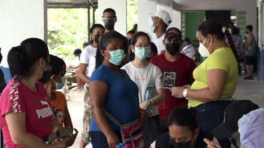 vacunación por barrido covid-19 en San Miguelito