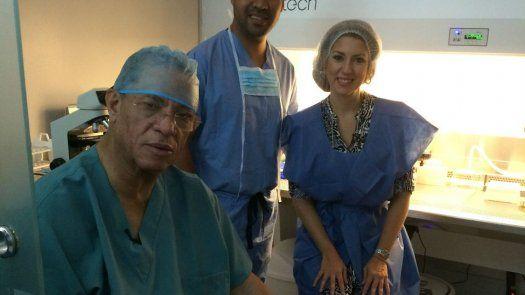 El éxito de Camilo Alleyne en la reproducción asistida