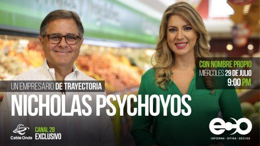 Nicholas Psychoyos: Compartir es la clave del éxito
